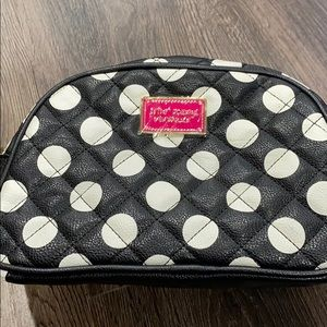 Brand new Betsey Johnson makeup bag